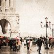 Venice, artwork in painting style — Stock Photo #26531213