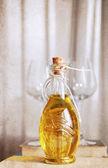 Konstverk i retrostil, olivolja — Stockfoto