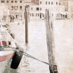 Artwork in grunge style, Venice — Stock Photo #29786407