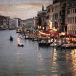 Artwork in grunge style, Venice — Stock Photo