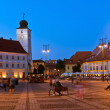 图库照片: Sibiu - night view