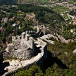 Sintra - the Moors fortress - Stock Photo