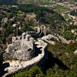 Sintra - the Moors fortress — Stock Photo