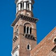 Lamberti Tower in Verona - Foto de Stock
