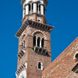 Lamberti Tower in Verona — Stock Photo