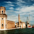 The Arsenale, Venice - Foto de Stock