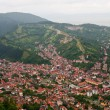 Brasov upper view - Foto Stock