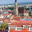 Stock Photo: St. Michael's Church, Cluj-Napoca