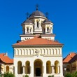 Church in Alba Iulia, Romania - Stock Photo
