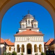 Church in Alba Iulia, Romania — Stock Photo