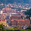 Brasov upper view — Stock fotografie