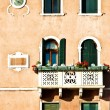 Detail of building in Venice — Stock Photo