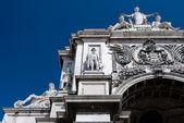 Triumph Arch of Augusta Street in Lisbon — Stock Photo