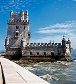 BELEM TOWER IN LISBON — Stock Photo