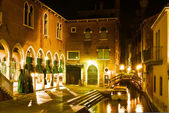 Venice, night scene — Stock Photo