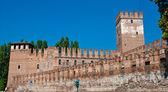 Castelvecchio in the City of Verona in Northern Italy — Stock Photo