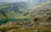 Hiking in Fagaras mountains — Zdjęcie stockowe
