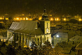 The Black church, Brasov, Romania — Stock Photo