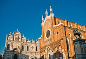 Basilica di San Giovani e Paolo in Venice, Italy — Stock Photo