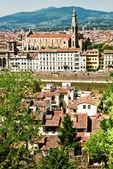 Santa Croce, Firenze — Stock fotografie