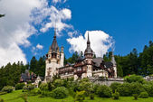Peles castle — Stock Photo