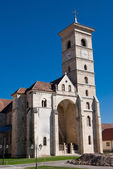 Catholic church in Alba Iulia — Stock Photo