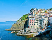 Riomaggiore, Tuscany, Italia — Stock Photo
