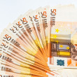Euro bank note — Stock Photo