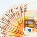 Euro bank note — Stock Photo