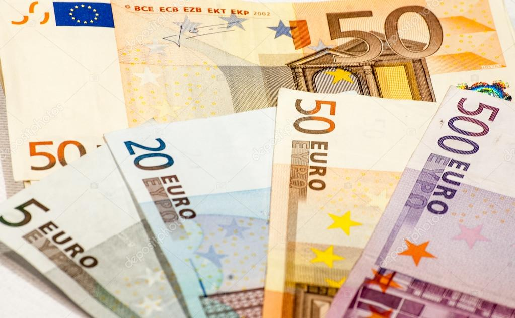 Abstract closeup of euro money — Stock Photo #14880163