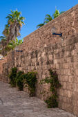 Old street of Jaffa, Israel — Stock Photo