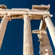 Detail of Parthenon temple Acropolis - Stock Photo