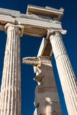 Detail of Parthenon temple Acropolis — Stock Photo