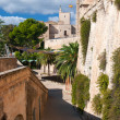 Street view in Palma de Majorca - Stock Photo
