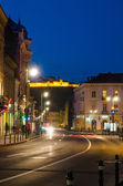 Street view in Brasov — Stock Photo