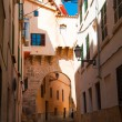 Medieval street in Palma de Majorca — Stock Photo #24629063