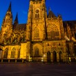 St Vitus Cathedral, Prague, Czech Republic - Stock Photo