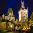 entrance in mala sstrana from charles bridge — Stock Photo