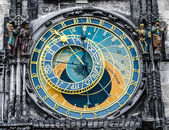 Astronomical clock - Praha landmark — Stock Photo