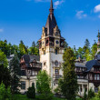 Stock Photo: Main tower of Peles castle