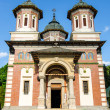 The Sinaia Monastery - facade — Stock Photo
