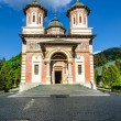 The Sinaia Monastery - front view — Stock Photo