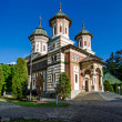 The Sinaia Monastery - side view — Stock Photo