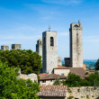 Towers of San Gimignano, Toscana landmark — Stock Photo
