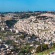 Panorama from Mount of Olives with the Dome of the rock and the old city walls in Jerusalem — Stock Photo #26888315