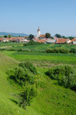Landscape in Transylvania, Rotbav — Stock Photo