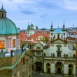 View over the rooftops in Old Town, Prague — Stock Photo #27588035