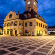 Brasov Council Square, Brasov landmark — Stock Photo