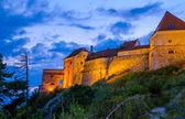 Dettaglio achitectural di rasnov fortezza — Foto Stock