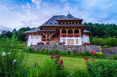 Barsana monastery, Maramures — Stock Photo